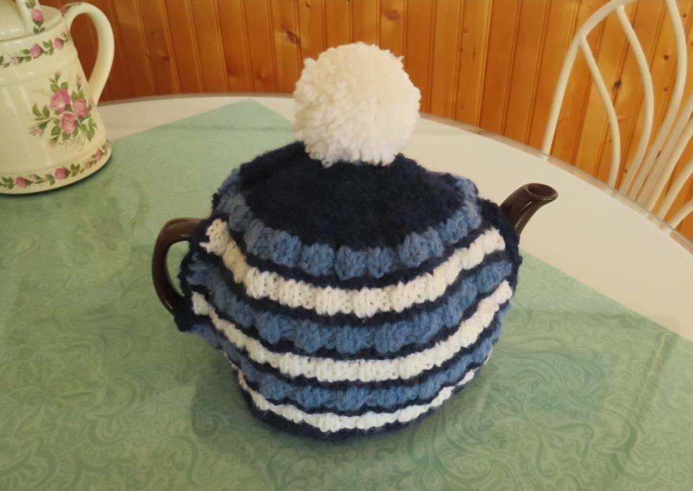 Teapot Cozy A Knitting Pattern Deb Garland