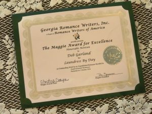 Maggie Award for Excellence - Honorable Mention for Laundress by Day